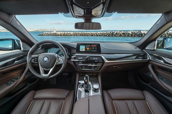 BMW 530d xDrive-Cocpit