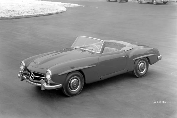 Mrcedes-Benz 190 SL (W 121, 1955 bis 1963).