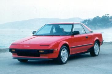 Toyota zeigt Kante: In den 1980 ganz prominent mit dem MR2